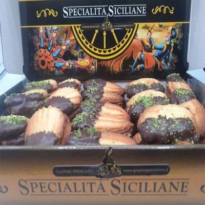 Gli Svizzeri Biscotti al Burro Farciti con Crema Cacao e Nocciole