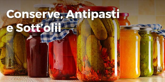 Conserve, Antipasti e Sott'olii | Saporidelbelice.com