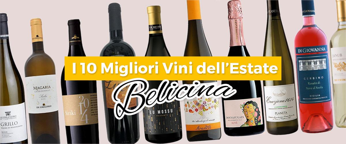 vendita,I 10 Migliori Vini e Spumanti Siciliani dell'Estate Belicina
