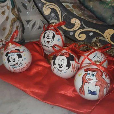 Palline di Natale Walt Disney personalizzate (2)