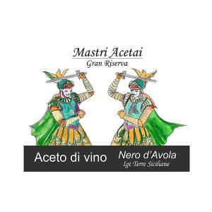 Etichetta Nero d'Avola Riserva
